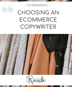 Choosing an experienced ecommerce copywriter is the simplest and most effective way to ensure that your products get the exposure they deserve. In Writing, Writing Skills, Cross Selling, Increase Sales, Copywriter, Ecommerce, Blog, Blogging, E Commerce