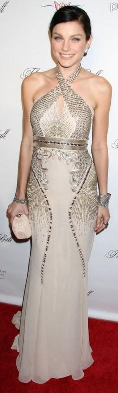 Jess_Stam at the 2012 Angel Ball