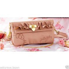 Hello Kitty Princess Frill Shoulder BAG Handbag Tote Purse Pouch Sanrio Japan | eBay