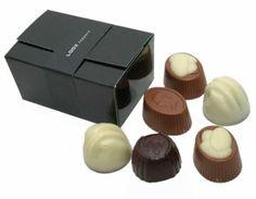 Bonbon doosje met 6 Belgische bonbons