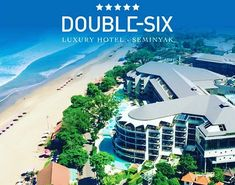 DOUBLE SIX BALI has another amazing special on  DOUBLE SIX LUXURY HOTEL SEMINYAK 5 from $899 per person on sale till 31st August Valid for Travel 01 Nov  20 Dec 18 06 Jan  30 Apr 19 Inclusive dates. 7 Nights in the comfort of an 80sqm Double-Six Leisure Suite Unlimited made to order breakfast At Seminyak Italian Food daily 10% Discount at Chez Gado-Gado Restaurant 20% Discount for all treatments at Acqua Perla Spa Use of Owners Lounge after check-out including alcohol & light snacks Free… Gado Gado, Shoulder Massage, Light Snacks, Wine Cocktails, Rooftop Bar, Spa Treatments, Wi Fi, Bali, Mansions