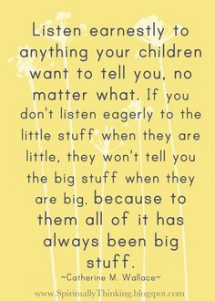 Quote re: parenting / children