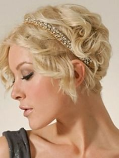Auf der Suche nach Haarschmuck für kurzes Haar? Mit dem passenden Haarschmuck rückst Du Deine Frisur ins rechte Licht! - Neue Frisur