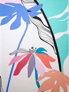 Flower Wall Art Design