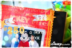 A Disney Bucket List : I have done this so far for all 4 times that I have gone to Disney in the past 2 years!