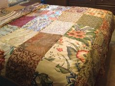 Frayed seams bedspread cover | Quilting Ideas | Pinterest : how to make bedspread quilt - Adamdwight.com