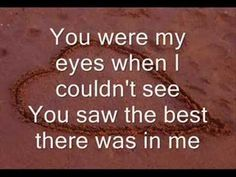 ▶ Because You Loved Me -LYRICS - YouTube