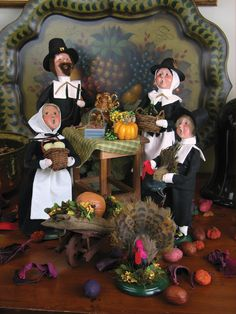Byers' Choice Carolers – Thanksgiving Collection 2015