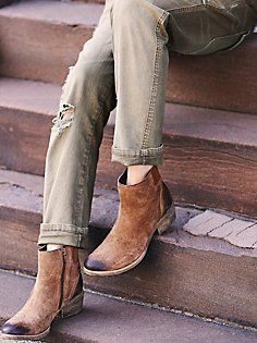 Everyday Distressed Boot - Free People