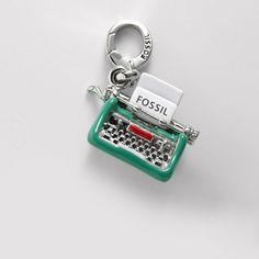FOSSIL® Jewelry Charms :Women Typewriter Charm JA5654