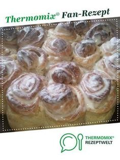 Cinnamon rolls from KittySamt. A Thermomix ® recipe from the baking category . - Cinnamon rolls from KittySamt. A Thermomix ® recipe from the category baking sweetwww. Authentic Mexican Recipes, Baby Food Recipes, Fall Recipes, Mexican Food Recipes, Baking Recipes, Dessert Recipes, Crepe Recipes, Food Cakes, Cinnamon Rolls