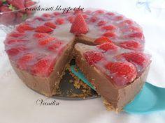 Süss Vanilinnel!: Epres csokoládékrém-torta (sütés nélkül)