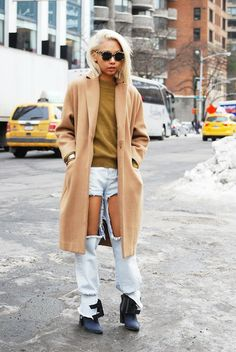 The Best Street Style From New York Fashion Week, Day 3: Vanessa Hong Blogger, The Haute Pursuit