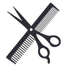 Silhouette Design Store: haircut logo
