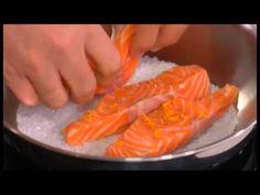 Tranci di salmone norvegese all'arancia - YouTube