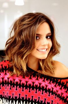 ahhh I wanna chop my hair this length..