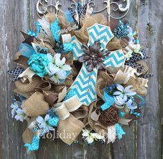 A personal favorite from my Etsy shop https://www.etsy.com/listing/289826667/cross-wreath-chevron-cross-wreath-home