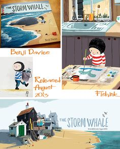 Fishinkblog 6006 Benji Davies The Storm Whale 4 Check out my blog ramblings and arty chat here www.fishinkblog.w... and my stationery here www.fishink.co.uk , illustration here www.fishink.etsy.com and here https://carbonmade.com/talent/fishink  Happy Pinning ! :)