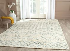 Casablanca Collection CSB806A Color: Ivory / Blue  #rug #carpet #safavieh #safaviehrug  #trendy #homedecor #homeaccents #shophome #livingroom #diningroom #bedroom #kitchen #office #rugsforyourhome #shag #shagrug #shagcarpet #softshagrugs #shagrugdesign #stunningshagrugs #safaviehshag #safaviehshagrugs #trendyrugs #bestrugs #bestrugprices