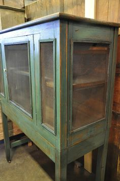 Primitive Pie Safe....I want this to pur my folded quilts in....and hang a berry wreath on the frontdoor....#justmystyle