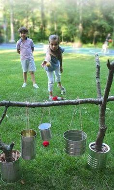 21 JEUX SUPER COOL à bricoler, pour amuser les enfants cet été! - Bricolages - Trucs et Bricolages                                                                                                                                                                                 Plus