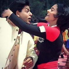 SRK Kajol Shahrukh Khan And Kajol, Shah Rukh Khan Movies, Kuch Kuch Hota Hai, Bollywood Couples, Bollywood Stars, Best Friend Goals, Best Friends, Sr K, Vintage Bollywood