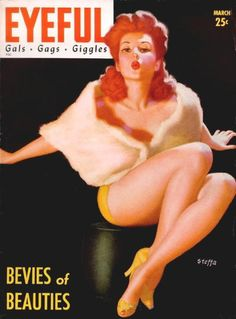 "March 1943 vintage Cover of Robert Harrison's ""Eyeful"" magazine"