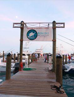 The starting gate for Wahoo Smackdown VIII, 2016 Bimini, Bahamas Alice Town, Big Game, Caribbean, Gate, Bucket, Island, Adventure, Vacation, Travel
