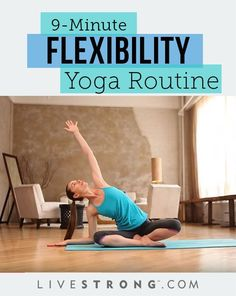 Tara Stiles' 9-Minute Flexibility Yoga Routine. #Yoga #Stretching