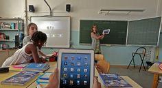 Apprendre à lire et compter avec des tablettes, c'est mieux? | Slate