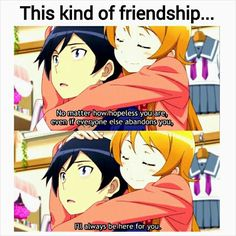 anime - friendship - oreimo