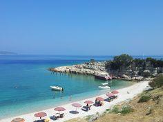 Golfo di Valona in barca a vela (Albania) by Tiziano Borella CartOrange, on Flickr