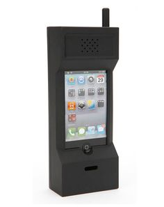 Haha an eighties cell phone case that you're iphone can fit in. Definitely takes freedom to rock this...lol