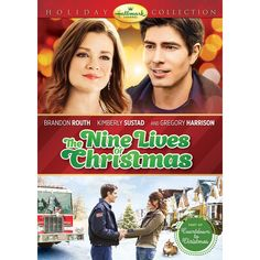 The Nine Lives of Christmas DVD. A Firefighter, Cat, Lovely Vet Student. A purrfect match? Romance and Family Fun. Brandon Routh, Kimberly S. Hallmark Channel, Películas Hallmark, Films Hallmark, Hallmark Holidays, Christmas Movies On Tv, Christmas Poster, Christmas 2014, Holiday Movies, Family Christmas