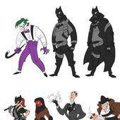 Charming Cartoon Style BATMAN and ROBIN Fan Art — GeekTyrant