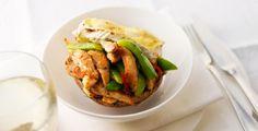 Recept van Gevulde portabello's met kip en camembert