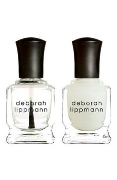 Deborah Lippmann Gel Lab Set available at #Nordstrom. I've heard great things about this. Turns a $10 mani into a gel nail.