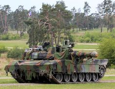 ea8e39bab9f6 French main battle tank Leclerc with additional camouflage