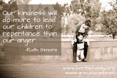 Fantastic post about teaching our children in LOVE...