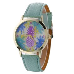 >> Click to Buy << (Ship From US) Pineapple Women Watches Montre Femme New Fashion&Causal Leather Analog Quartz WristWatch Dress Women Bracelet #Affiliate