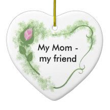 Mom Ceramic Ornament