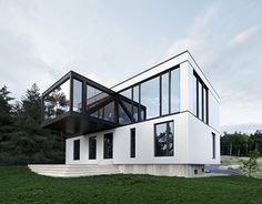 """Check out new work on my @Behance portfolio: """"The """"Blanche"""" Chalet (ACDF Architecture)"""" http://be.net/gallery/43359713/The-Blanche-Chalet-(ACDF-Architecture)"""