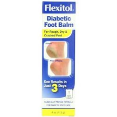 Flexitol Diabetic Foot Balm  4-Ounce (Pack of 2)