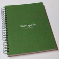 Kate Spade upcycled green blank book from theblueforest's Etsy shop. Sold.