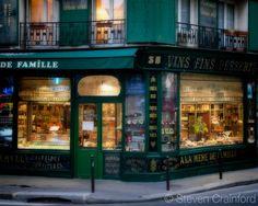 The glowing windows of A la Mere de Famille - Paris