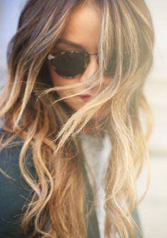 golden ombre- miss my blonde days