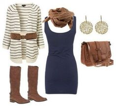 Brown bag Outfit