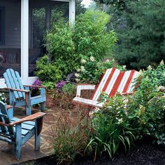 Red, White, And Blue Outdoor Decor