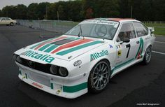 GTV6 Alfa Romeo Gtv6, Alfa Romeo Cars, Alfasud Sprint, Alfa Gtv, Car Colors, Vw T5, Rally Car, Courses, Custom Cars
