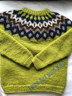 Icelandic sweater ready to ship 8 years handmade jumper image 0 Icelandic Sweaters, Wool Sweaters, Handmade Shop, Etsy Handmade, Old Chest, Sweater Making, Baby Knitting, Jumper, Knitting Patterns